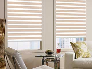 Layered Shades | Glendale Blinds & Shades, CA